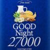 睡眠サプリ グッドナイト27000